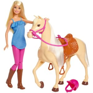Barbie hobusega FXH13 1/3