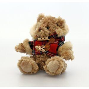 Keel Toys karu Hamish ruudulise jakiga 15 cm. 1/1