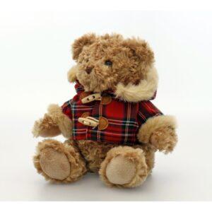 Keel Toys karu Hamish ruudulise jakiga 20 cm. 1/1