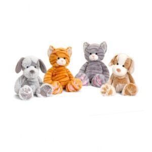 Keel Toys Love to Hug kassid-koerad 18cm 1/4